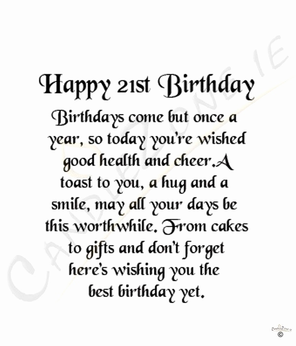 things to say in a 21st birthday card ; things-to-say-in-a-21st-birthday-card-elegant-best-25-21-birthday-quotes-ideas-on-pinterest-of-things-to-say-in-a-21st-birthday-card