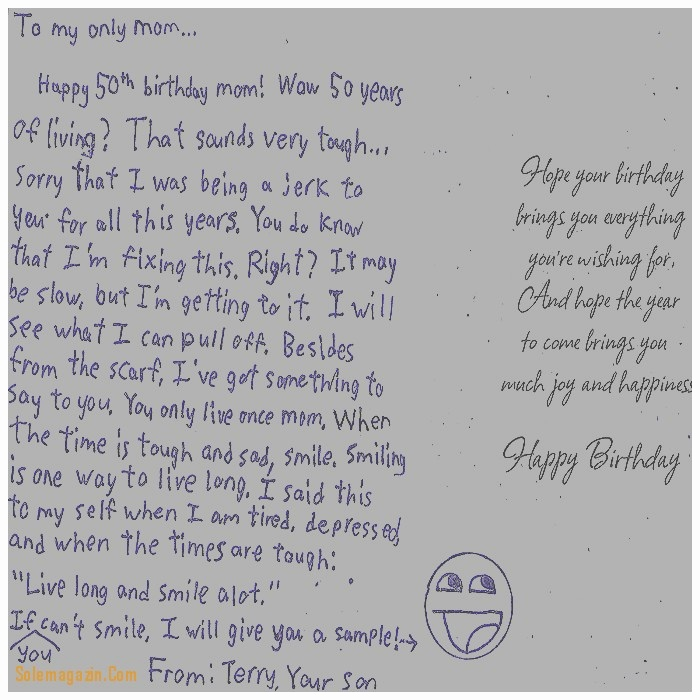 things to write in a 50th birthday card ; What-To-Write-I-Marvelous-What-To-Write-In-A-50th-Birthday-Card