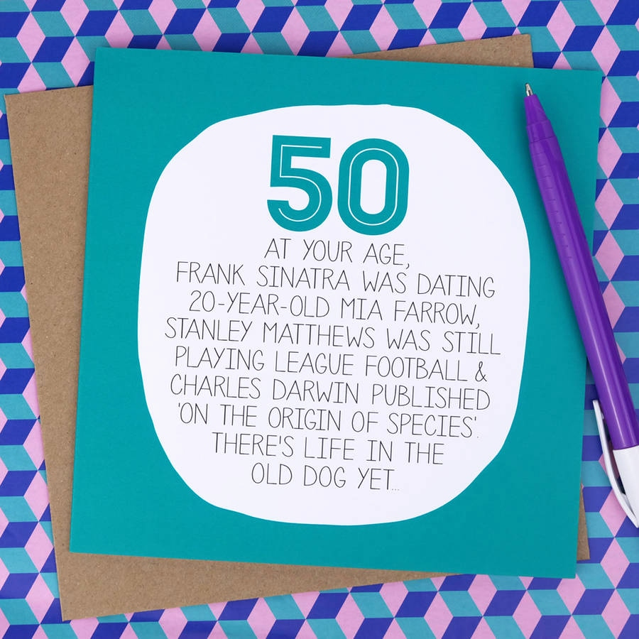 things to write in a 50th birthday card ; what-to-write-in-a-50th-birthday-card-fresh-by-your-age-funny-50th-birthday-card-by-paper-plane-of-what-to-write-in-a-50th-birthday-card