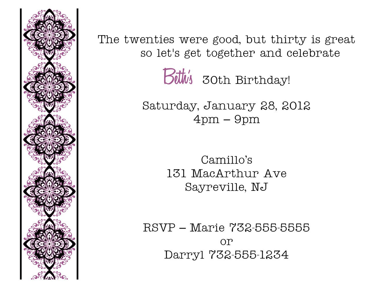 thirtieth birthday invitation wording ; 30th-birthday-invitation-wording-make-your-beautiful-Birthday-invitations-much-more-awesome-15