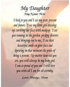 to my daughter on her 16th birthday poem ; 801ef7ade23ed2be6eb71234f2a6b4d3