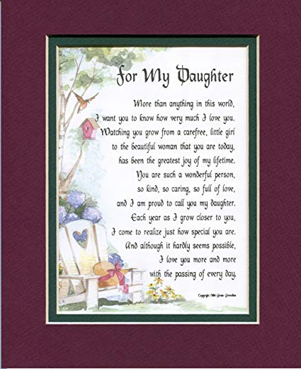 to my daughter on her 16th birthday poem ; A1ad9MViRgL