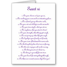 to my daughter on her 16th birthday poem ; f8d29cfe4d677ca6e37da20ebf48e24d--birthday-sentiments-card-sentiments