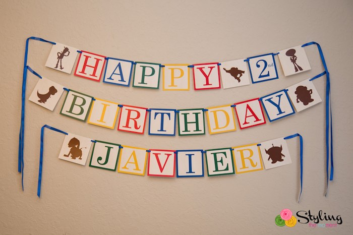toy story happy birthday banner ; Toy-Story-Themed-Birthday-Party-via-Karas-Party-Ideas-KarasPartyIdeas