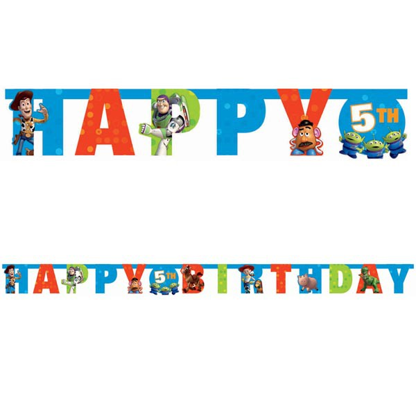 toy story happy birthday banner ; a129594