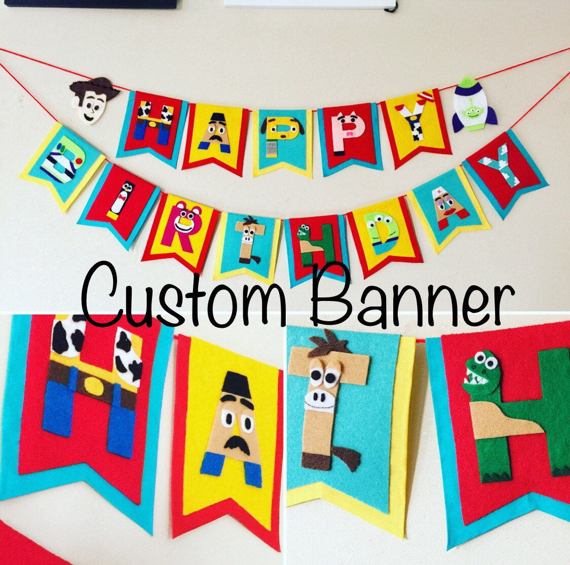 toy story happy birthday banner ; il_fullxfull