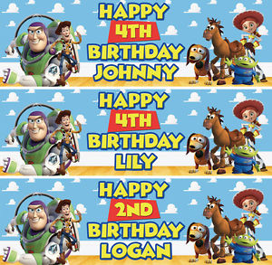 toy story happy birthday banner ; s-l300