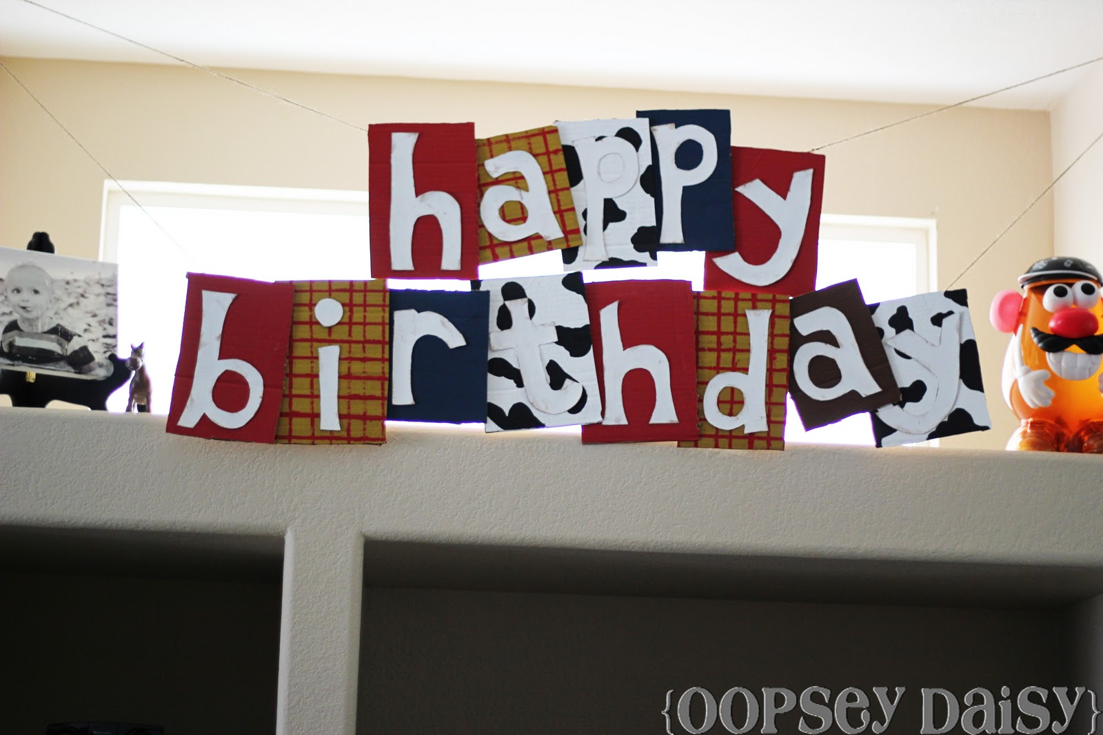 toy story happy birthday banner ; toy+story+banner_all