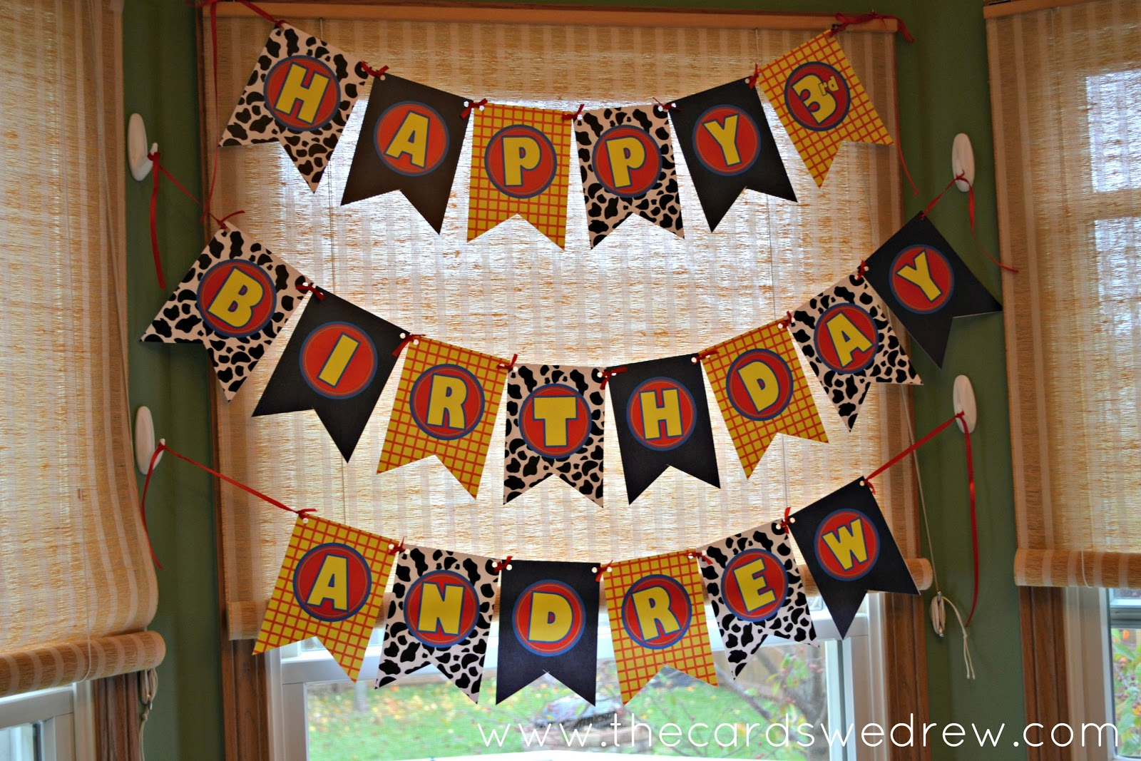 toy story happy birthday banner ; toy+story+inspired+birthday+banner