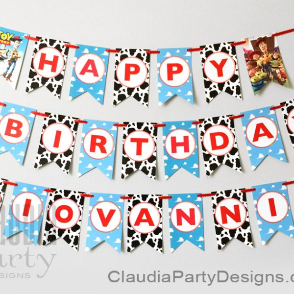 toy story happy birthday banner ; toy-story-custom-party-banner-600x600
