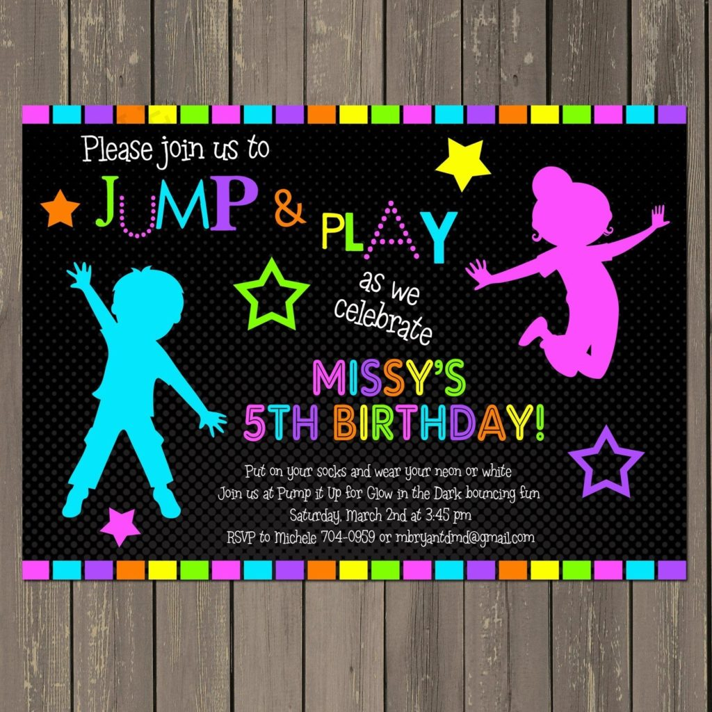 trampoline birthday invitation template ; neon-party-invitations-for-invitations-your-Party-Invitation-Templates-by-implementing-artistic-motif-concept-7