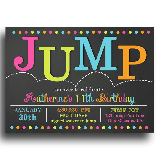 trampoline birthday invitation template ; trampoline-invitations-trampoline-jump-birthday-party-invitations-for-twins-or-siblings