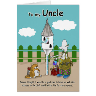 uncle birthday card funny ; twitter_me_funny_uncle_birthday_card-r07c01f921bbd4c2b8e36ad4caa32dde9_xvuat_8byvr_324