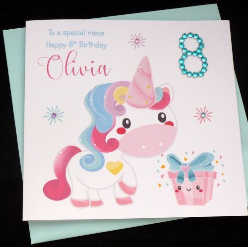 unicorn birthday card ; 500x4981508930083
