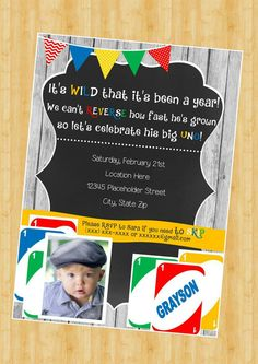 uno birthday invitation template ; 1c4a7827a996b2b9c3db3c4b2e734994