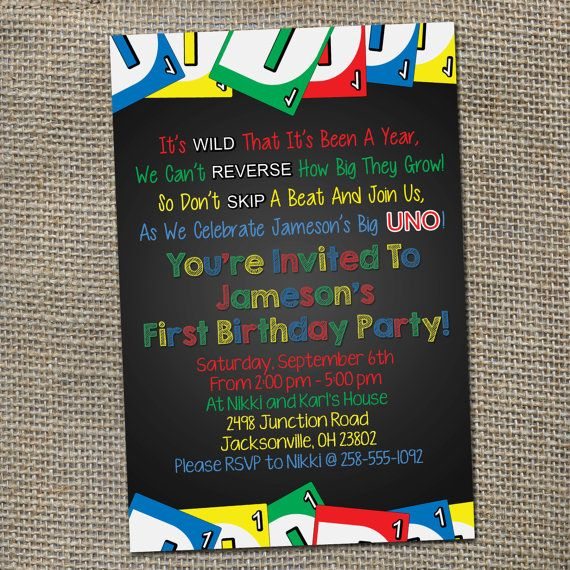 uno birthday invitation template ; 9a0e6aed7e69123165c4b467aa1c9f01