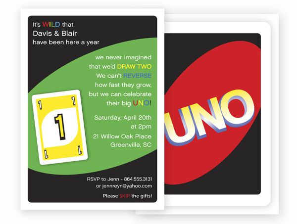 uno birthday invitation template ; uno-first-birthday1