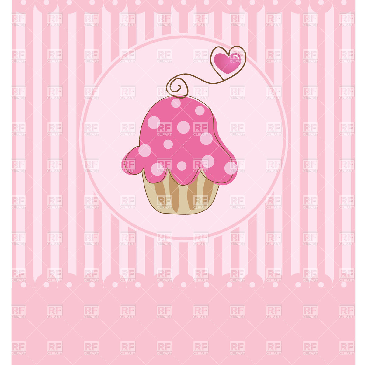 valentine birthday clip art ; birthday-or-valentine-day-invitation-with-pink-muffin-Download-Royalty-free-Vector-File-EPS-43849