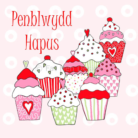 welsh birthday card messages ; penblwydd_hapus_5_wm