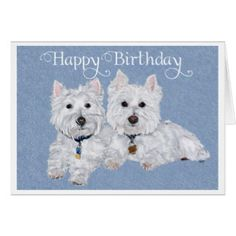 westie birthday card ; 290dfcd3243c7d70b9996d36462071e9--westies-birthday-wishes
