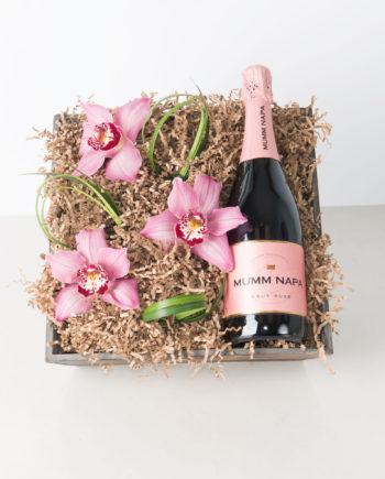 wine birthday gift delivery ; 18VDCHAO-orchids-champagne-delivery-toledo-ohio-romance-valentine-350x435