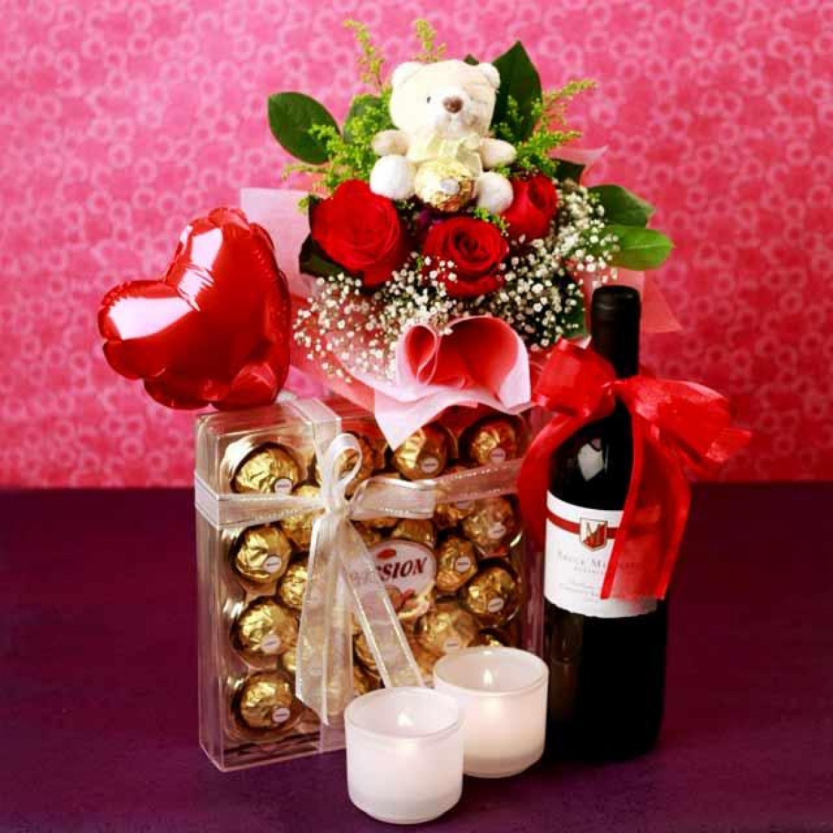 wine birthday gift delivery ; attraction_of_love
