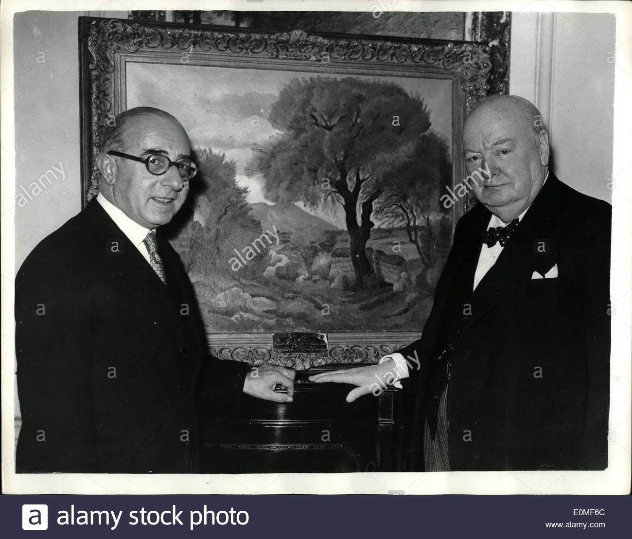 winston churchill 80th birthday picture ; winston-churchill-80th-birthday-picture-dec-12-1954-sir-winston-churchill-receives-another-birthday-gift-landscape-e0mf6c
