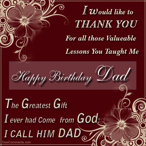 wish birthday to dad ; Birthday-Wishes-For-Dad-19