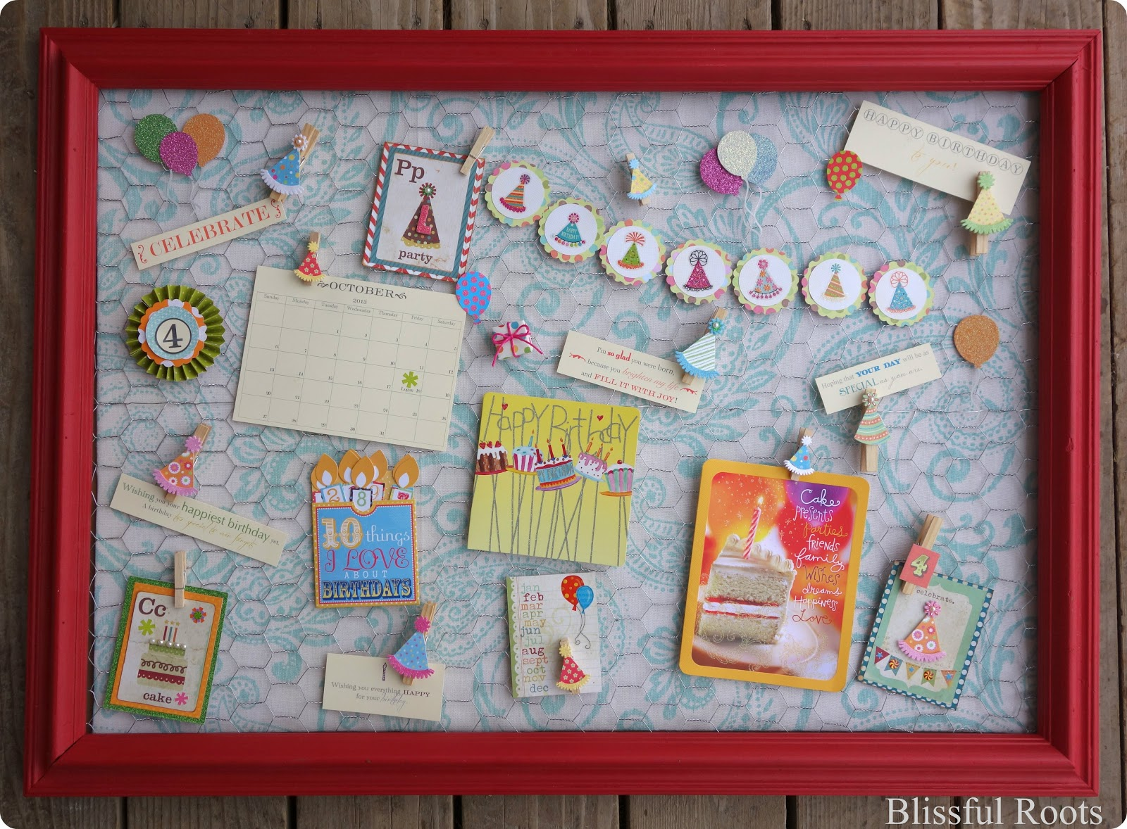wish board for birthday ; Birthday+Board