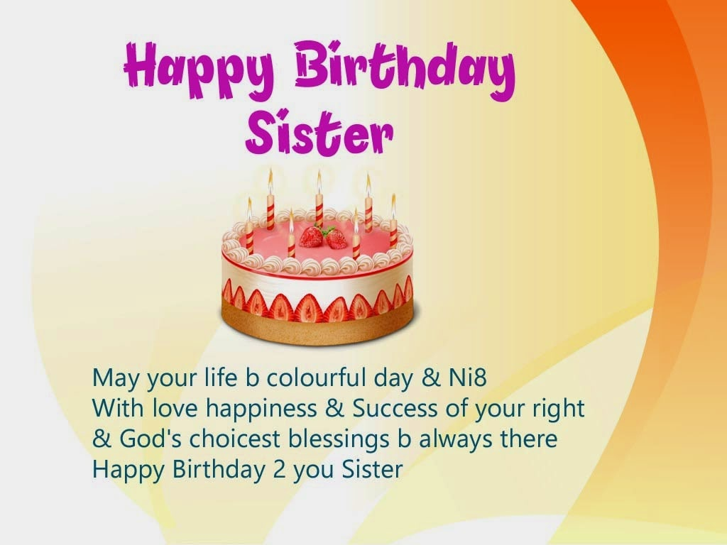 wish you happy birthday sms ; unique-happy-birthday-wishes-for-my-dear-sister%252B%2525283%252529