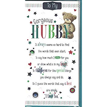 words for husbands birthday card ; 51PuNo-An3L