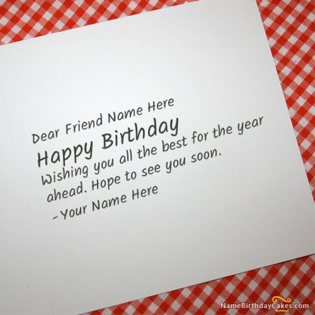 writing a birthday card for your best friend ; What-To-Write-In-A-Birthday-C-Stunning-What-To-Put-On-A-Birthday-Card